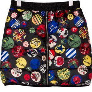 Junior Gaultier Girls' Printed Paddded Skirt 8